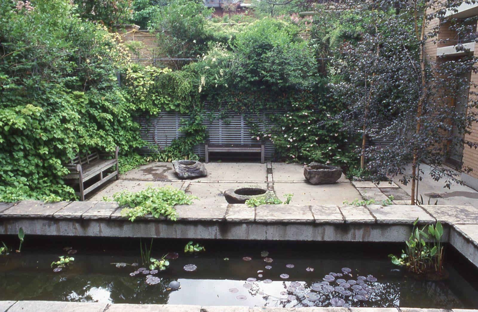 68平米长方形庭院设计